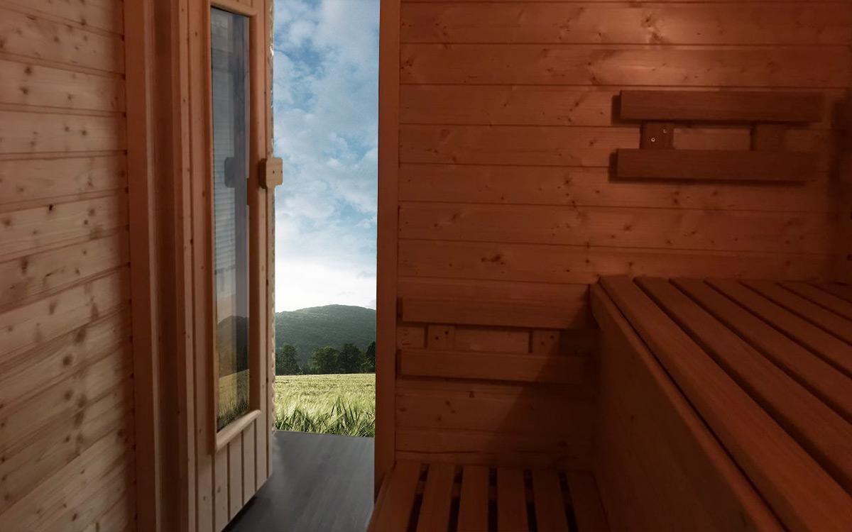 Sauna auf Rädern 2