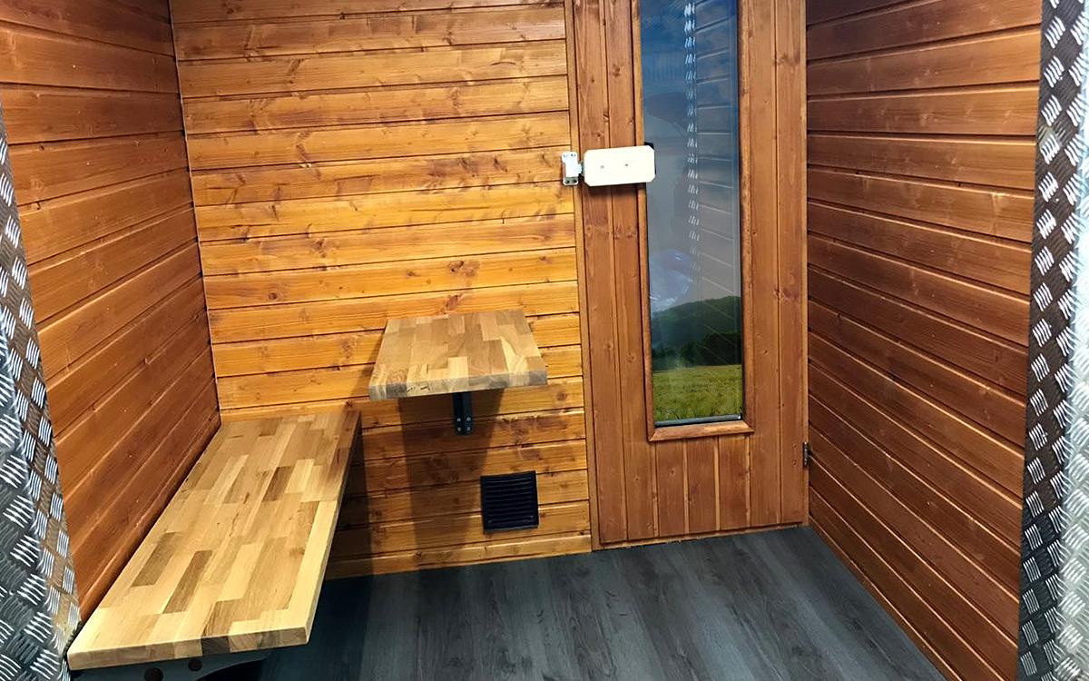 Sauna auf Rädern 3