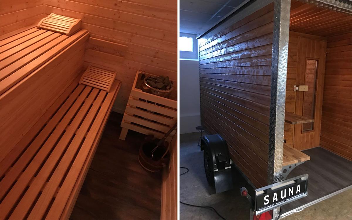 Sauna auf Rädern 6