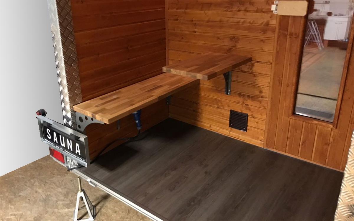 Sauna auf Rädern 9